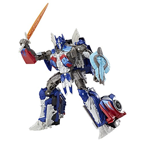 Transformers: l' ultimo knight premier edition voyager class optimus prime