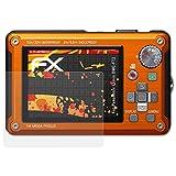 atFoliX Folie für Panasonic Lumix DMC-FT2 Displayschutzfolie - 3 x FX-Antireflex-HD hochauflösende entspiegelnde Schutzfolie