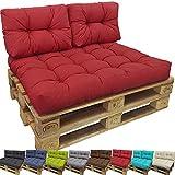 Coussins Lounge II pour palette europe de proheim - Coussins en différentes tailles à choisir (PAS UN ENSEMBLE!!) pour sofa en palette pour extérieur et intérieur, Couleur:Anthracite, Variable:1 Coussin petit de dossier