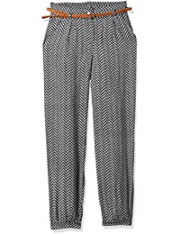 Cherokee Girls' Slim Regular Fit Cotton Trousers