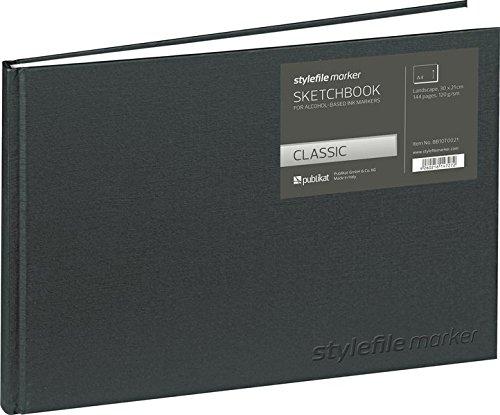 Stylefile Marker Classic Skizzenbuch Din A4 horizontal