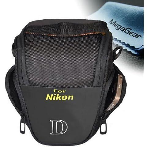 MegaGear Funda Bolsa Protector Cámaras Réflex Para Nikon D3300, D3200, D5300, D5200, D5500