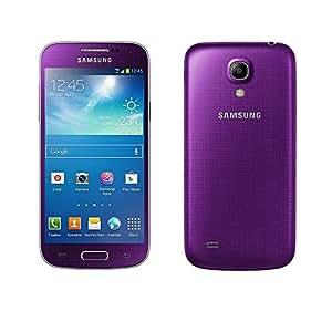 Samsung Galaxy S4 mini Smartphone (10,85 cm (4.27 Zoll) AMOLED-Touchscreen, Micro-Sim, 8 GB interner Speicher, 8 Megapixel Kamera, LTE, NFC, Android 4.2) violett