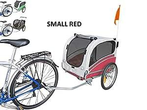 Polironeshop Snoopy - Remorque de vélo pour transporter chien, animal, etc. Small rouge