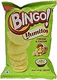 #8: Bingo Yumitos Cream and Onion Potato Chips, 25g
