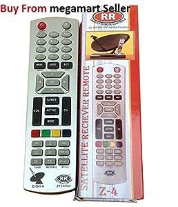 Dish Tv Compatible Remote Zenega 4 Set Top Box