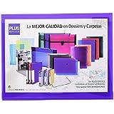 Plus Office B183-VL - Carpeta con solapas, A4, violeta