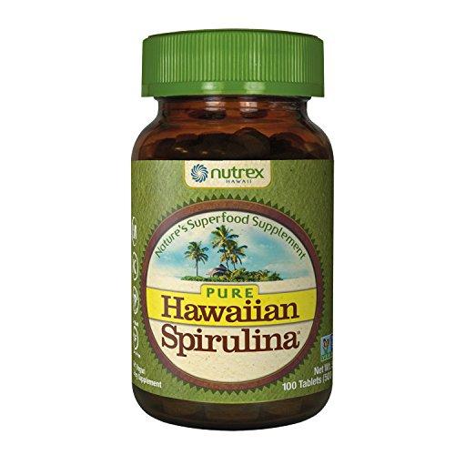 Nutrex Hawaii Spirulina Tablets 500mg 100 Tablets, 100 - 519QOeHTX4L