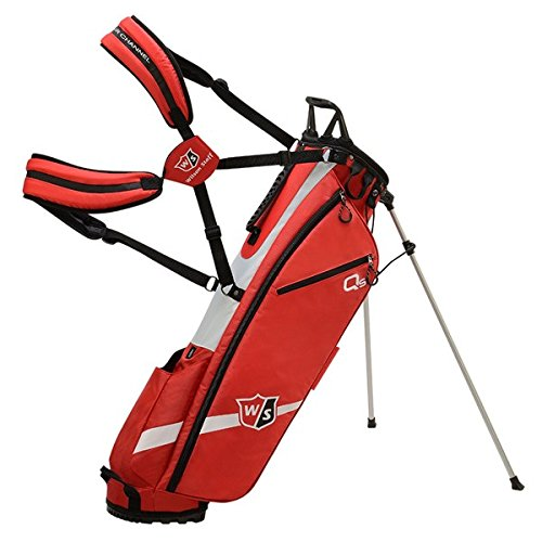 Wilson Golf WGB4321RD Sac Trépied Mixte Adulte, Rouge