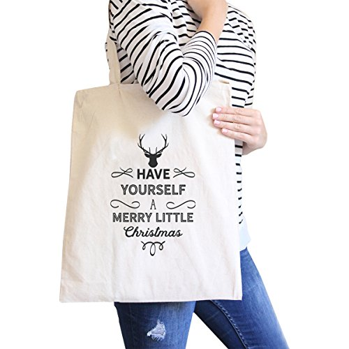 365 Printing inc , Borsa da spiaggia  Donna Jolly Af Misura unica Have Yourself A Merry Little Christmas