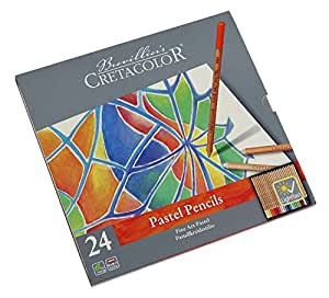 Cretacolor–Fine Art Pastel Craie 24 Stk multicolore