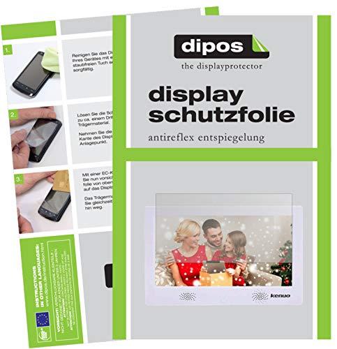 dipos I 6X Schutzfolie matt passend für Kenuo 10.1 Zoll Folie Displayschutzfolie