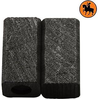 Escobillas de Carbón para BLACK & DECKER KR500REB taladro — 6x7x13mm — 2.4×2.8×5.1»
