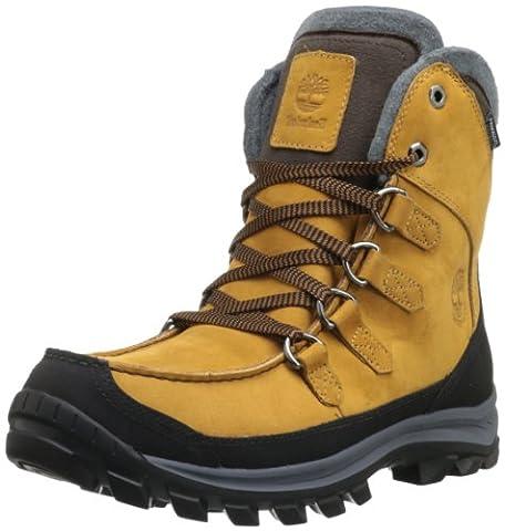 Timberland Ek Chillberg Premium Waterproof, Chaussures de randonnée montantes homme - Jaune (Wheat), 43 EU (8.5 UK) (9 US)