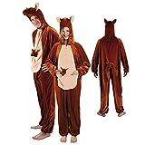 PARTY DISCOUNT NEU Damen- und Herren-Kostüm Känguru Gr. M-L