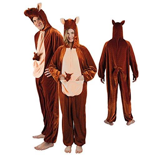 NEU Damen- und Herren-Kostüm Känguru Gr. (Erwachsene Die Kostüme Känguru Für)