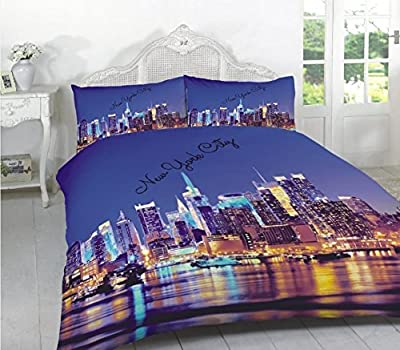 3D Duvet Cover Sets Polycotton, Bedding Sets, Single, Double, King