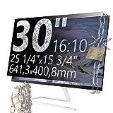 Xianan 30 Zoll 16:10 Breitbild Displayfilter Bildschirmfilter 25