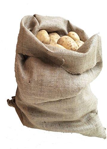 Nutley's Lot de Pommes de Terre Sac, 66 x 116 cm, env. 250 g, XL, Bien sûr, Lot DE 10