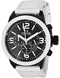 TW Steel Marc Coblen Edition Chrono mit Lederband 42 MM Black/White MCPR14