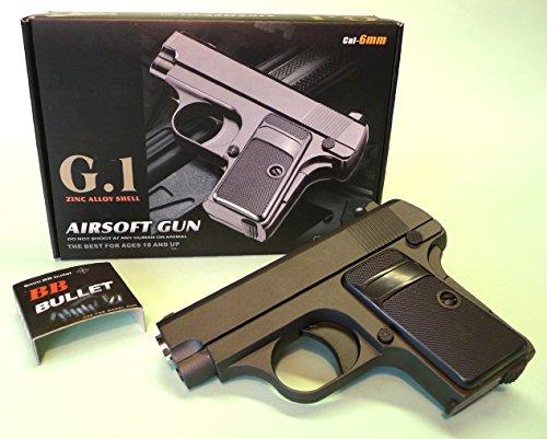 SOFTAIR 6mm BB PISTOLE G.1 Zink-Metall Ausführung -