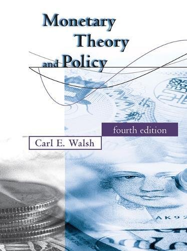Monetary Theory and Policy (The MIT Press) par  MIT Press