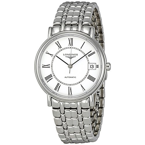 LONGINES PRESENCE  L48214116 GENTS SILVER STEEL BRACELET & CASE AUTOMATIC WATCH