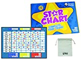 Reward Chart for Children by SmartPanda - Magnetic Star Chart Inspires Good Behaviour - Perfect for Kids, Toddlers, Boys and Girls. Potty Training and Habit Trainer