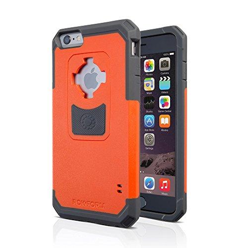 Rokform V3 Sport Schutzhülle iPhone 6 Plus / 6S Plus (5.5) Hülle mit Magnetic Auto-Halterung - Tasche in Orange V3 Ipod