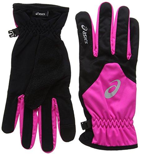 Asics Winter Handschuhe Medium pink/schwarz (Handschuhe Running Asics)