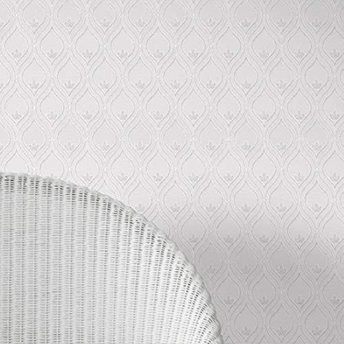"""Stickers Carrelage 20.8 """"X393.7"""" Paquet De Motif De Style Européen De 2 Rouleaux Living Room Wallpaper 57 Pieds Carrés / Rouleau Cuisine Restaurant Hôtel Café Fond Murs Décoration Salle de Bain et Cui"""