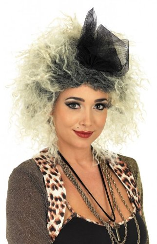 Ladies Madonna 80's Pop Star Blonde Wig (peluca)
