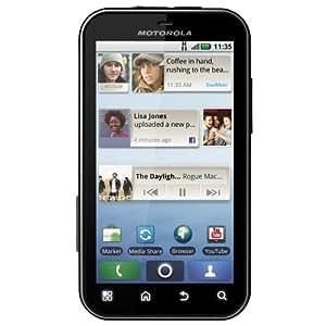 Motorola Defy with Motoblur Sim Free Android Smartphone - Black/White