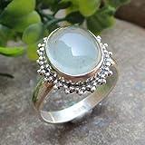 Chalcedony Handmade Rings
