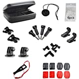 Kuvest 30-in-1 Accessories Kit For Gopro Hero HD 4/3/3+/2/1 With EVA Collection Case