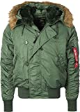 Alpha Industries N2B Winterjacke Sage Green, Green