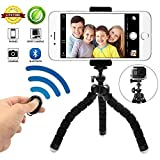 Best Tripod Mount For Galaxy Note 3s - Phone Tripod Phone Stand with Bluetooth Camera Remote Review