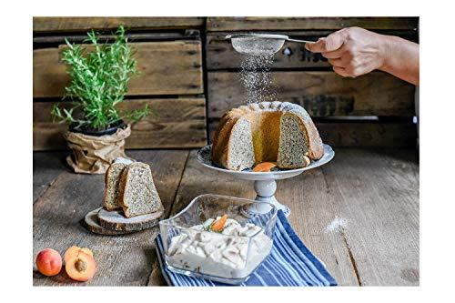 Hobbybäcker Süßer Schnee ★ professionelle Alternative zu Puderzucker extrafein, 500 g (Weg Schnee)