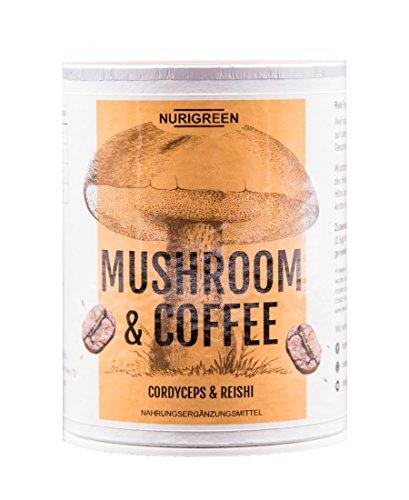 100% Arabica Kaffee Pulver | NURIGREEN MUSHROOM & COFFEE | Ohne künstliche Zusatzstoffe |...