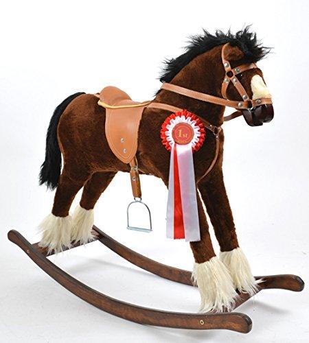 ALANEL Titan Sehr Hochwertiges Großes Schaukelpferd / Schaukeltier Handarbeit OVP (Twister)