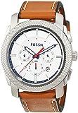 Fossil Herren-Armbanduhr Machine Chronograph Quarz Leder FS5063