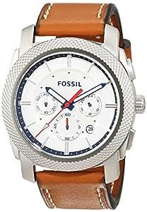 fossil herren chronograph quarz uhr mit leder armband. Black Bedroom Furniture Sets. Home Design Ideas