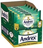 Andrex Skin Kind Washlets, Luxury Flushable Toilet Wipes Enriched with Aloe Vera and Chamomile, 12 Packs