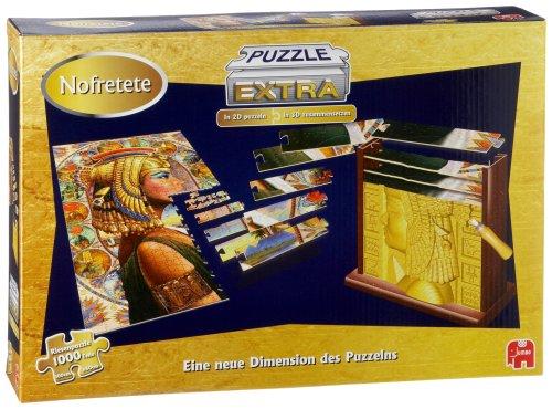 Jumbo Spiele 12113 - Puzzle Extra Nefretete (ägyptische 3d-puzzle)