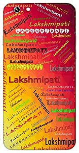 Lakshmipati (husband of Lakshmi) Name & Sign Printed All over customize & Personalized!! Protective back cover for your Smart Phone : Apple iPhone 5/5S