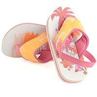 Urban Beach Infants FLIP Flops with Heel Strap- Toddler Beach Sandals Girls Surin