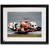 Framed Carl Fogarty Unterzeichnet Superbikes Foto: Close To The Edge