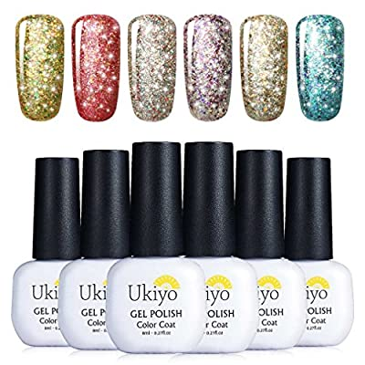 Glitter Gel Nail Polish Set
