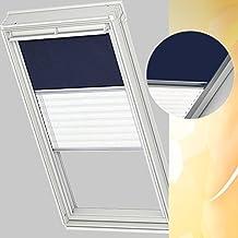 Velux Duo - Combinación de cortinas de oscurecimiento y translúcida para ventanas de tipo GGL/GHL (de tamaño M08) y GGL-2