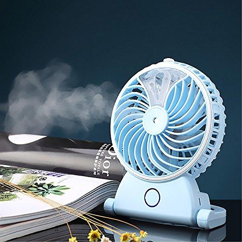 Wasser Zerstäuberfunktion Schreibtisch Fan Düsenadapter USB Mini Fan Kühler Luftbefeuchter Wasser Spray Fan für Desktop Tischplatte Boden Büro Zimmer